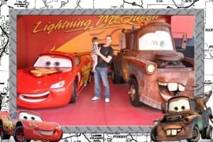 Lightning McQueen and Mater Hollywood Studios