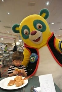 Ethan and Special Agent Oso