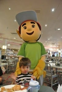 Ethan and Handy Manny