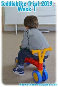 Ethan's Toddlebike Adventures