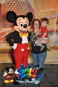 Mickey Mouse EPCOT