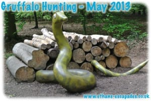 Gruffalo Hunting - Thorndon Country Park