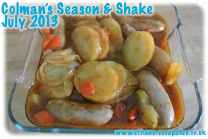 Colman's Season & Shake Sausage & Herb Casserole