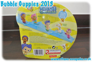 Bubble Guppies Gil Rolling Figure