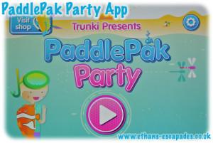 Trunki PaddlePak Party App