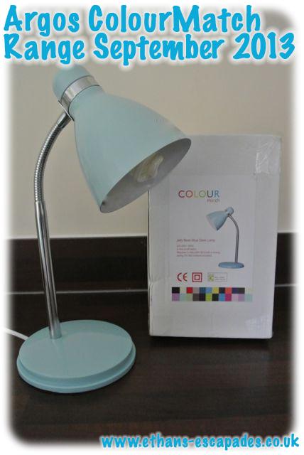 Argos Desk Lamps: Argos ColourMatch Range Jellybean Blue Argos ColourMatch Range Jellybean  Blue,Lighting