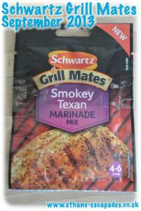 Schwartz Grill Mates Smokey Texan Marinade Mix