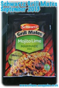 Schwartz Grill Mates Mojito Lime Marinade Mix