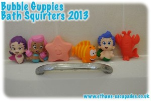 Bubble Guppies Bath Squirters Fisher Price