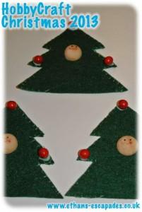 HobbyCraft Christmas Tree People Felt Decorations
