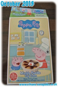 Peppa Pig Muddy Puddle Cup Cakes