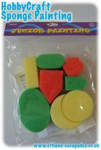 HobbyCraft Junior Painting Sponge Set