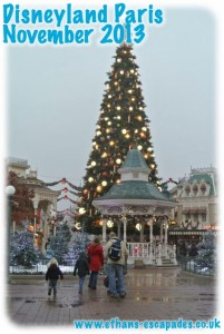 Disneyland Paris Christmas 2013