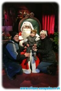 Father Christmas Santa Claus Disneyland Paris
