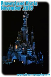 Disneyland Paris Christmas Castle