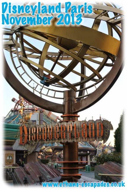 Disneyland Paris Christmas Discoveryland
