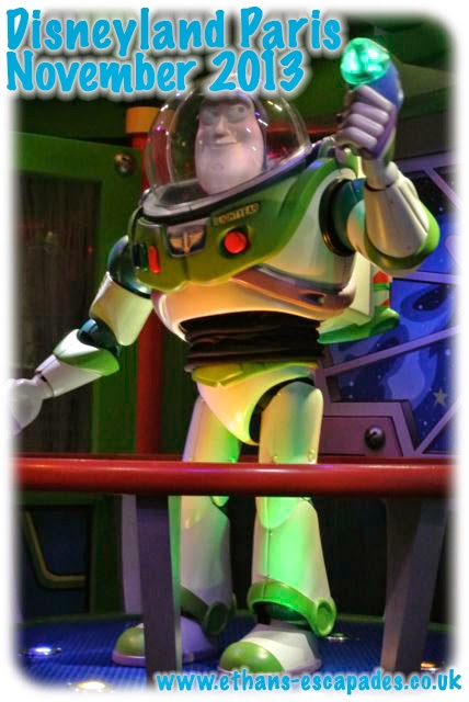 Disneyland Paris Christmas - Buzz Lightyear Laser Blast