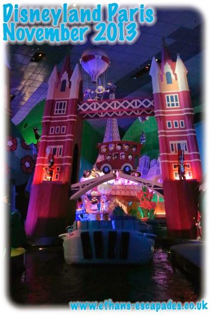 Disneyland Paris Christmas Its A Small World