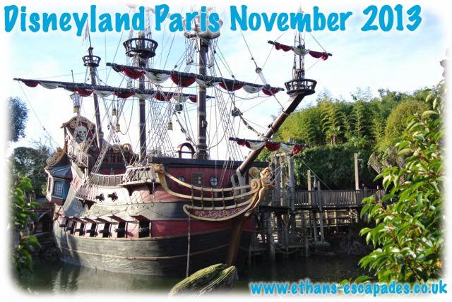 Disneyland Paris Christmas Adventureland