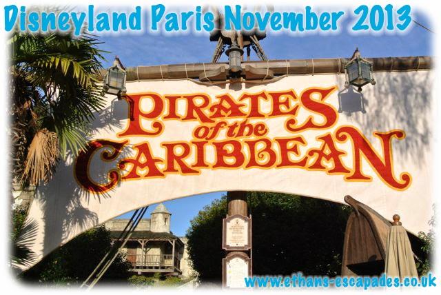 Disneyland Paris Christmas Pirates of the Caribbean