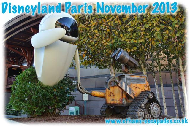 Disneyland Paris Christmas WALL-E