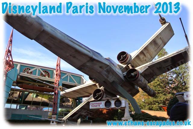 Disneyland Paris Christmas Star Tours
