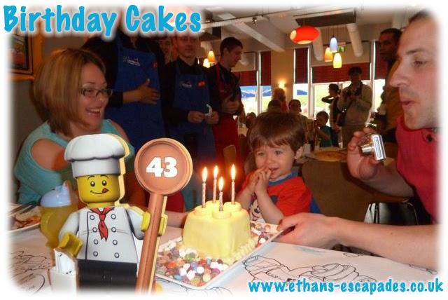 Legoland Windsor Birthday Cake