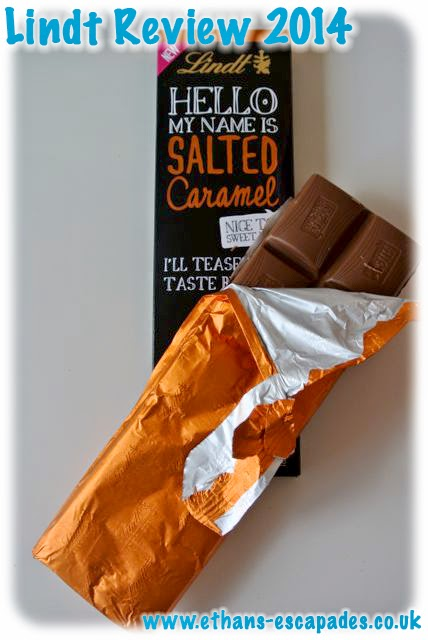 Lindt Chocolate Salted Caramel