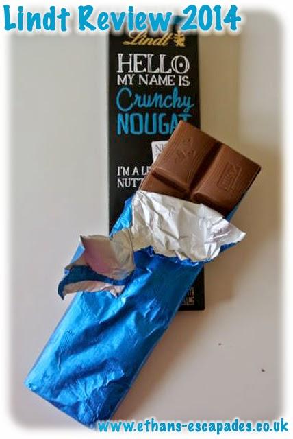 Lindt Chocolate Crunchy Nougat
