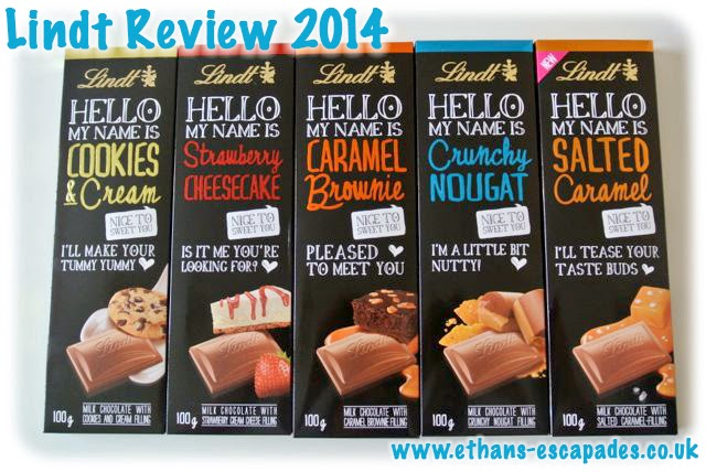 Hello - Lindt Chocolate Product Review