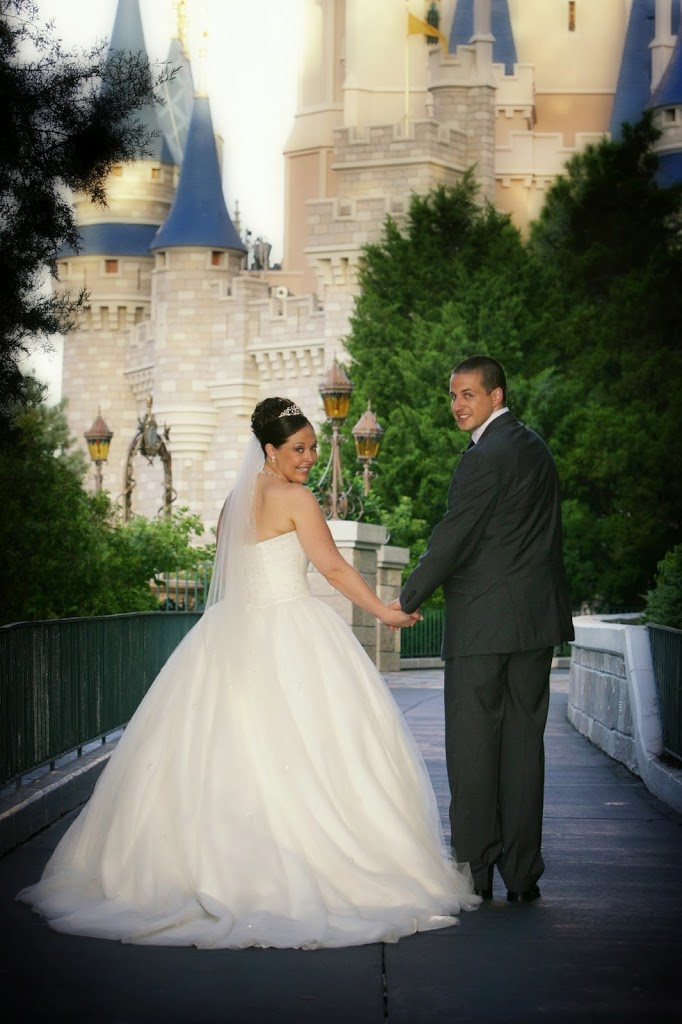 Magic Kingdom Bridal Photo Shoot