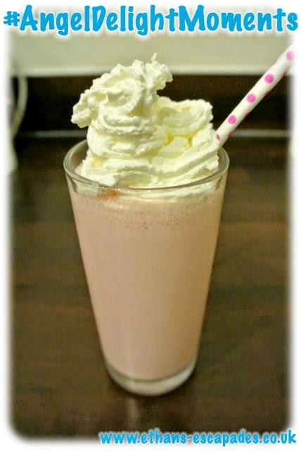 Angel Delight Bubblegum flavour Milkshake