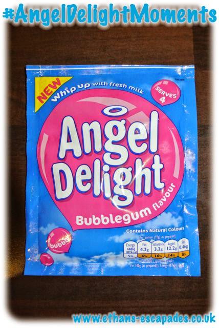 Angel Delight Bubblegum flavour