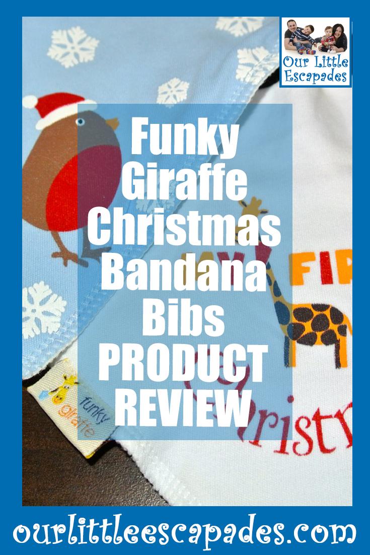 funky giraffe christmas bandana bibs PRODUCT REVIEW