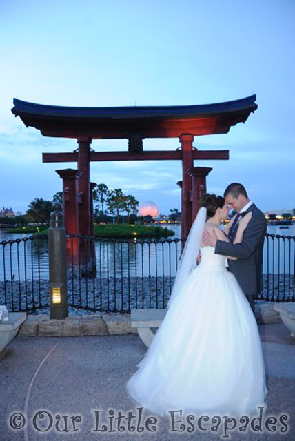 disney wedding epcot japan