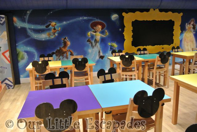 The Disney Cafe Harrods