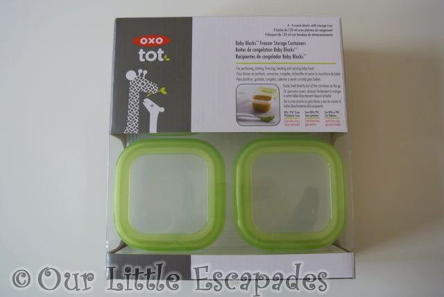 OXO Tot Baby Blocks Freezer Storage Containers