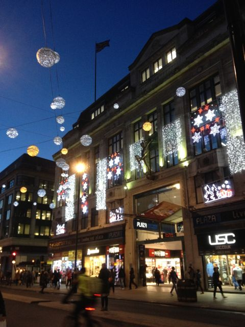 Oxford Sreet Christmas Lights