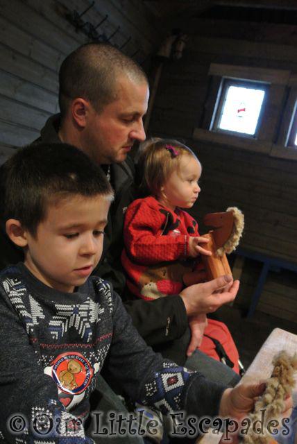 darren ethan little e making wooden horses lapland uk toy factory