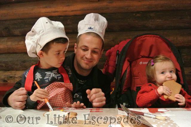 darren ethan little e mother christmas kitchen lapland uk superstar day