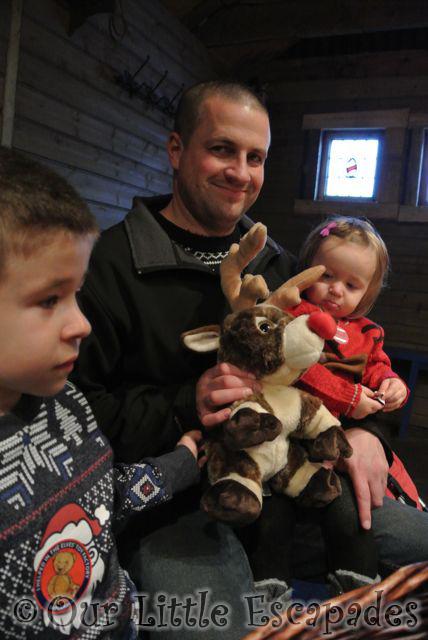 darren ethan little e reindeer toy lapland uk toy factory