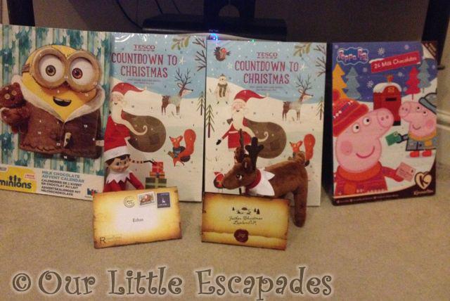 lapland uk invites advent calendars