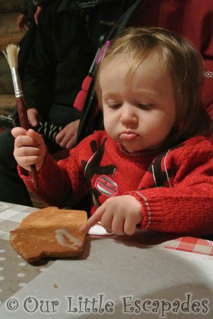 little e decorating gingerbread lapland uk superstar day