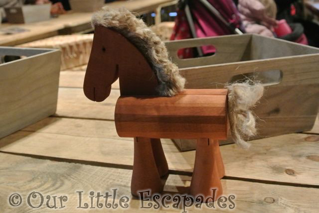 toy wooden horse lapland uk toy factory