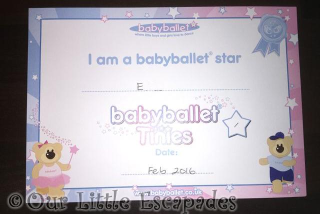 CertificatesBabyBallet