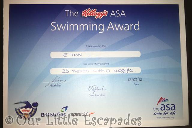 CertificatesSwimming