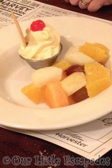 Harvester Fruit Salad Dessert