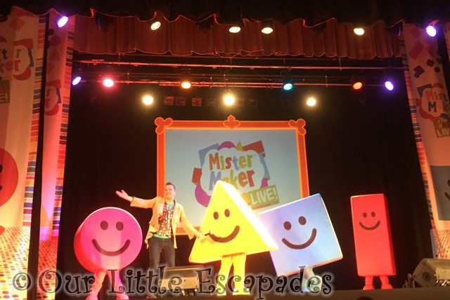 Mister Maker and the Shapes Live