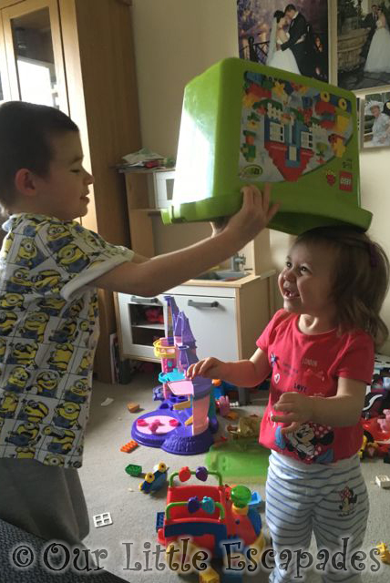 sibling interaction where one is a Five parenting tips and activity ideas that will help strengthen sibling relationships don't stop the fights and arguing, instead focus on the good  one of which.