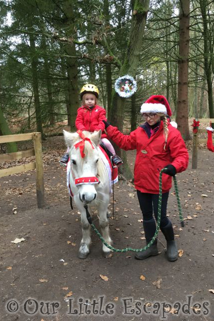 center parcs pony ride at elveden forest